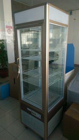 Expositor refrigerado pastelaria panorâmico