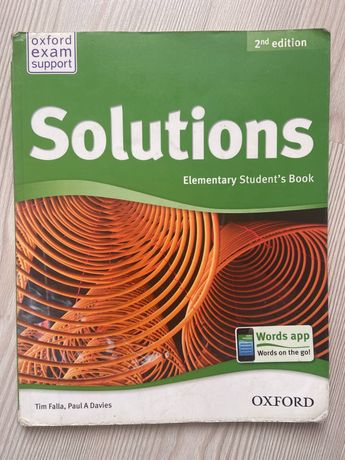 Solutions Elementary Student's Book