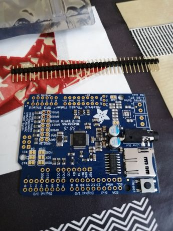 "Shield Arduino da Adafruit ""music maker"" MP3/OGG/WAV"