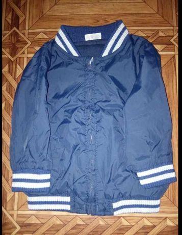 Детская куртка ветровка на 3-6 месяцев