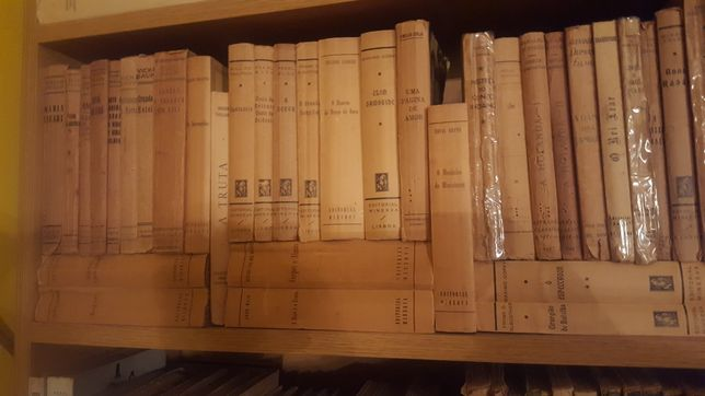 Livros antigos.