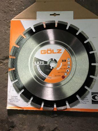 Tarcz diamentowa Golz LA75 350mm 25,4
