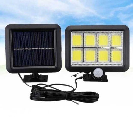 Фонарь. Уличный светильник на солнечной батарее с датчик движения 160