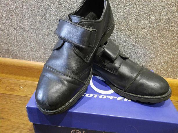 Туфли кожаные муж