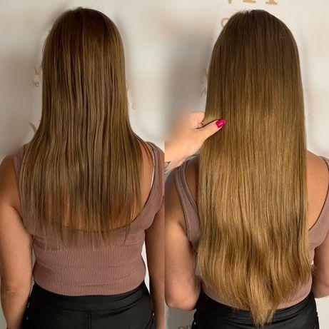 Włosy naturalne rosyjskie premium 55cm 140g
