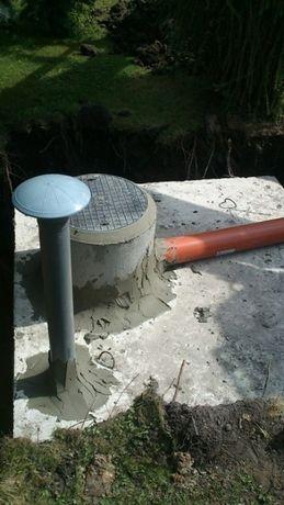 Zbiornik betonowy na szamba,Szambo,zbiorniki betonowe na deszczówkę.