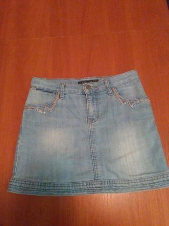 Fajna spódniczka jeans rozmiar 27