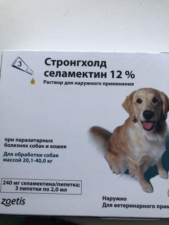 Средство при паразитарных болезнях собак и кошек