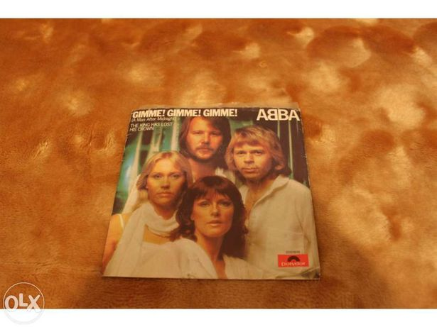 Disco Vinil -  ABBA - Gimme! Gimme! Gimme! (A Man After Midnight)