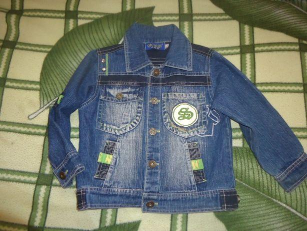 Джинсовая курточка 3-5лет