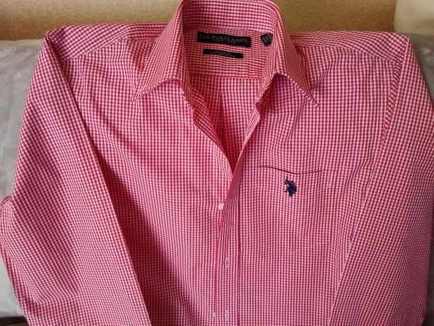 Рубашка мужская новая U.S.POLO ASSN бренд США размер М