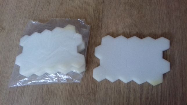 Gãbeczki bezpyłowe plastry miodu 60szt