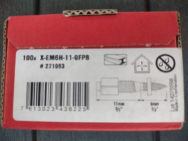Kołek gwintowany HILTI X-EM6H-11-9FP8 100 sztuk