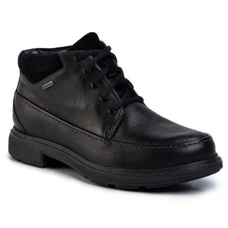 Clarks кларкс демисезонные ботинки кожа горе-тех 46 размер 30см стельк