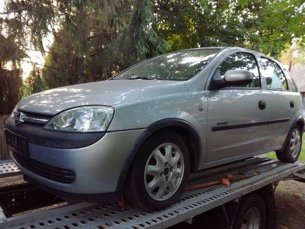 Opel Corsa C 1.0 Benzyna 2003r cała na części/ Coś trzeba dzwoń