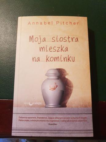 Moja siostra mieszka na kominku, Annabel Pitcher