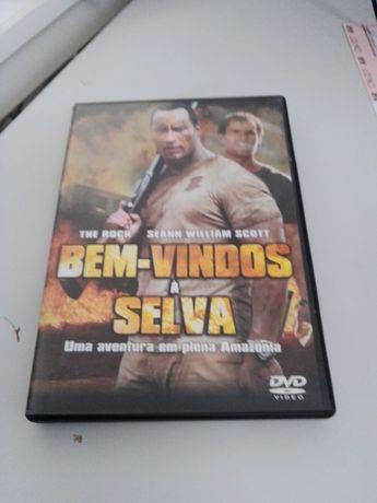 DVD Bem-Vindos à Selva Filme Dwayne Johnson Seann William Scott Rock