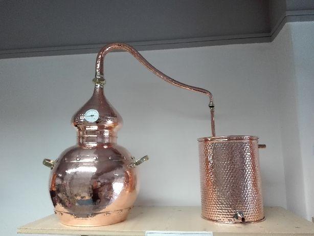 Alambique de cobre 40 litros - novo