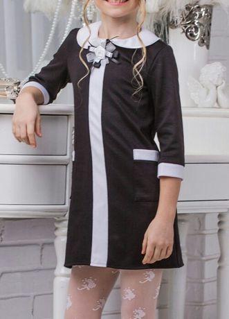Школьное платье в стиле Шанель р.146 -1350 руб.