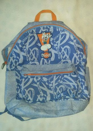 Niebieski plecak firmy Diddl