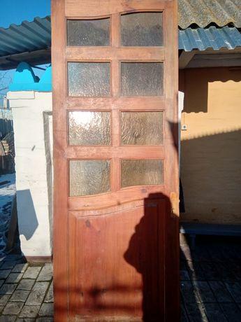 Продам дерев'яні двері великого розміру