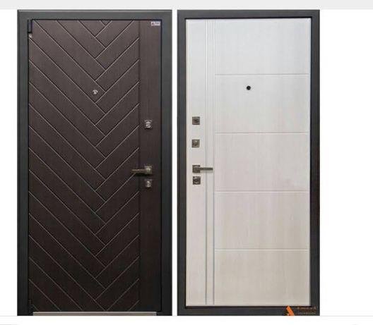 Двери входные из металла.