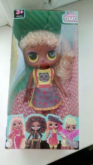 Кукла lol OMG есть подсветка кулона