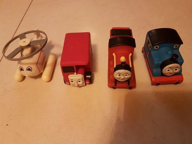 zabawki gumowe do kąpieli Tomek i przyjaciele zestaw 4szt. oryginalne