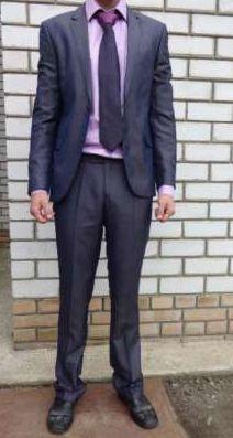 Костюм ,рубашка галстук новый
