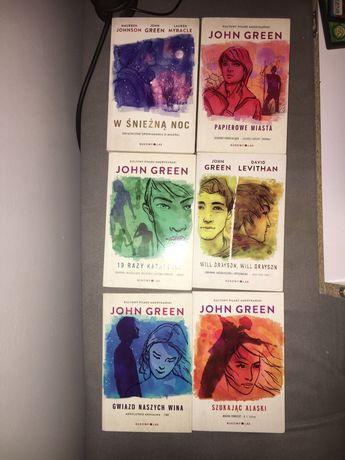 John Green, wszystkie książki