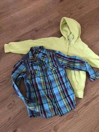 Catimini HM koszula + bluza 122 6-8 lat