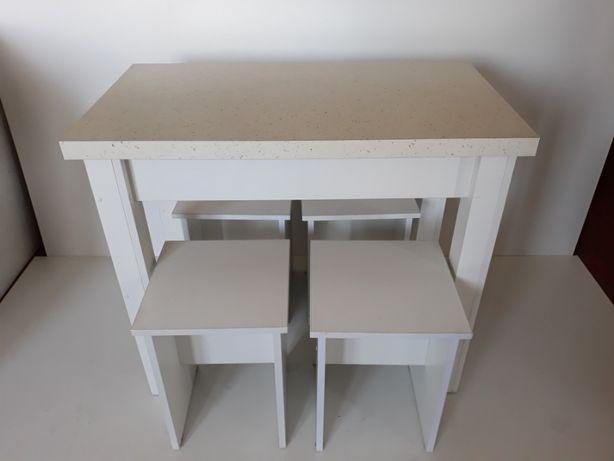 Комплект Стол + 4 табурета