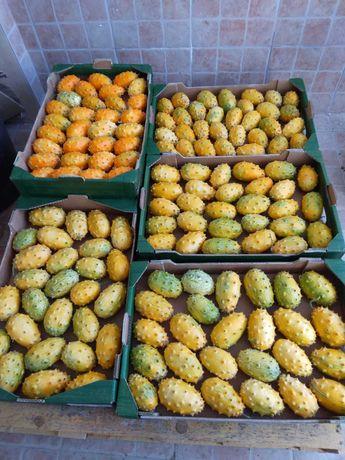 Vendo KIWANOS ( Melanos ), mínimo 1 Kg, entrego em na zona de Lisboa