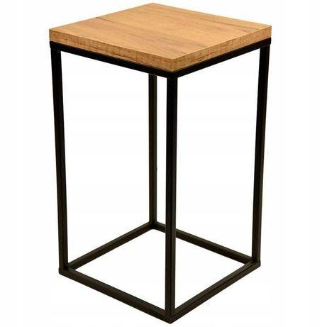 kwietnik stojak 42cm podstawka stolik na kwiaty loft