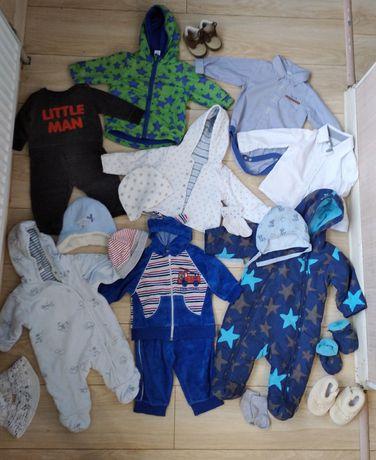 Пакет вещей на мальчика на 0-3-6 м. Лот детской одежды до года, набор