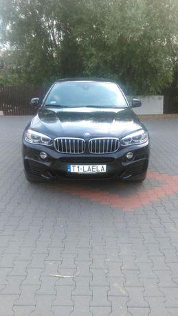 Wynajem samochodu BMW X6 do ślubu