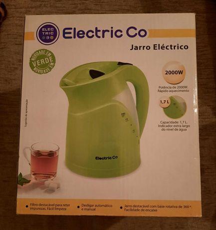 Vendo Jarro Eléctrico Verde 2000W - Novo