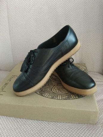 Туфлі Оксфорди жіночі (US size 5.5)