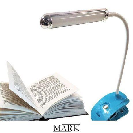 Настольная LED лампа с прищепкой Yajia YJ-5868 USB или 220В светильник