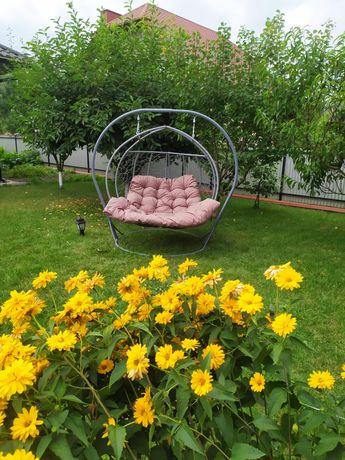 Садова Качеля кокон Двухместное подвесное Кресло кокон Галант-Дабл