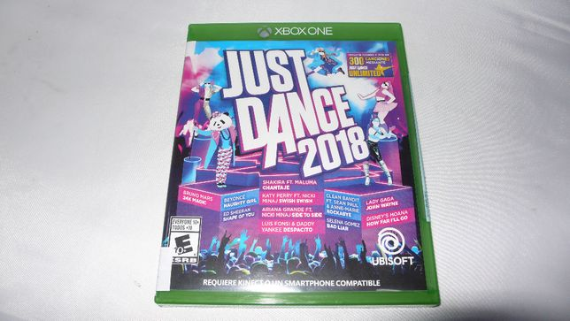 Gra na kinect do XBox One Just Dance 2018 folia nowa taniec tańczenie