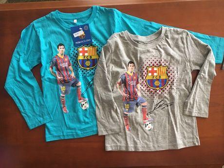 T-shirt chłopięcy rozmiar 104/110 i 116/122 FC Barcelona