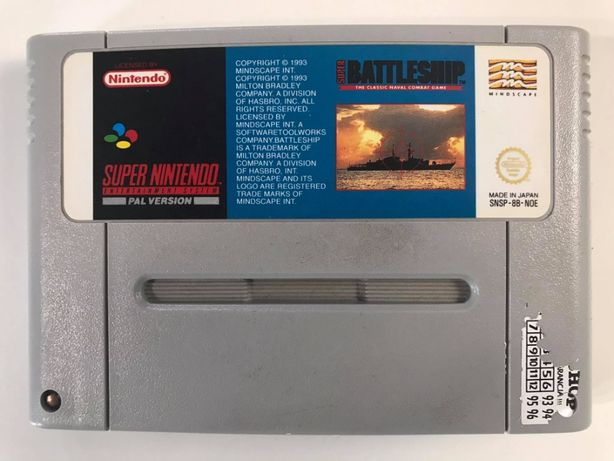 Gra Super Battleship Super Nintendo SNES PAL