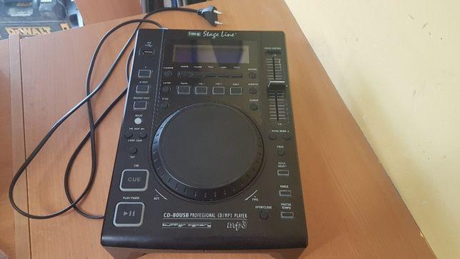 Odtwarzacz CD DJ IMG Stage Line CD-80USB
