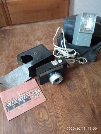 Фотоапарат Семена 8м і фотовспишка електроніка