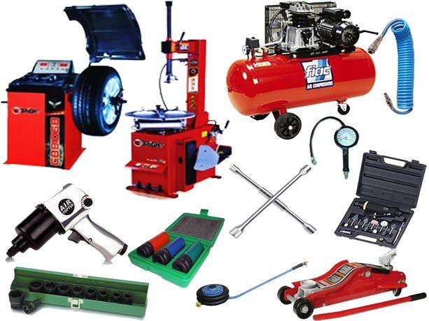 Полный комплект шиномонтажного оборудования, станок обладнання Bright