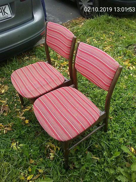 Starocie zestaw krzeseł 2szt.