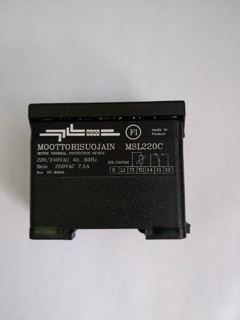 Реле тепловой защиты мотора MSL 220c. КМ 196824