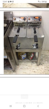 Fritadeira dupla de 7L