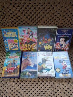 48 kultowych bajek na VHS